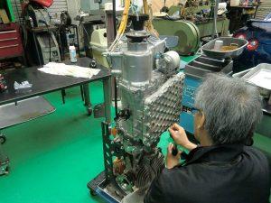 R35 GT-R メンテナンス ~ GR6強化ミッション&強化クラッチ組込